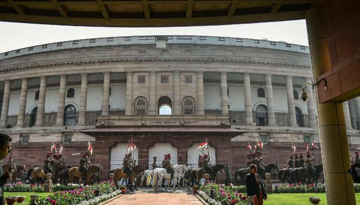 Parliament building, New Delhi