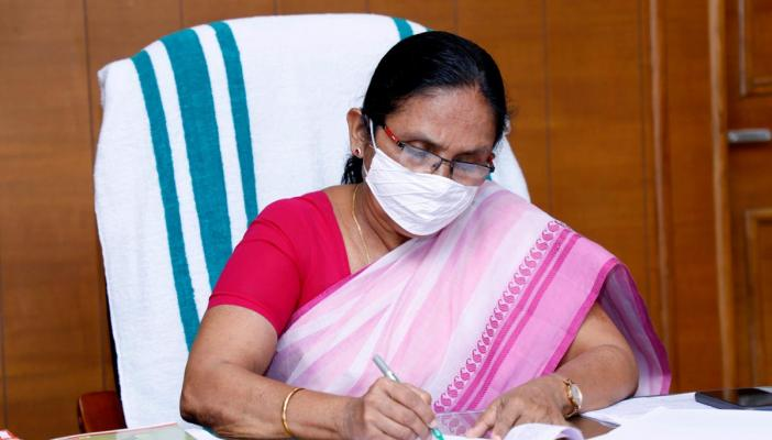 KK Shailaja slams opposition for crowded protests rampant COVID-19 transmission