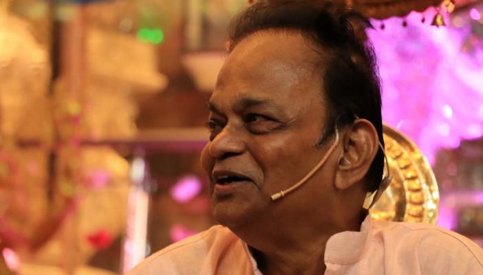 Siva Shankar Baba at an event