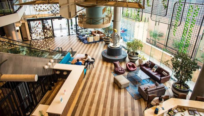 Coworking spaces are gaining popularity in Tier 2 3 cities of India