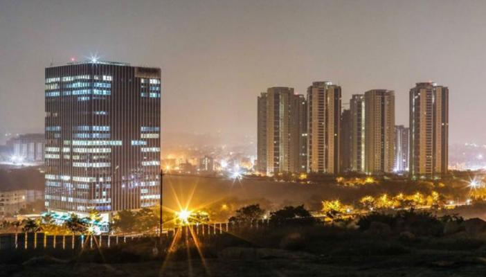 High rise buildings in Hyderabad