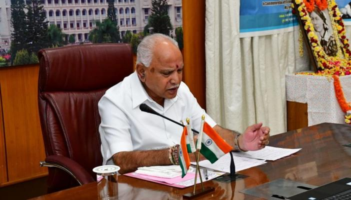 Ktaka CM Yediyurappa thanks Centre for releasing long-pending GST dues of Rs 4314 cr