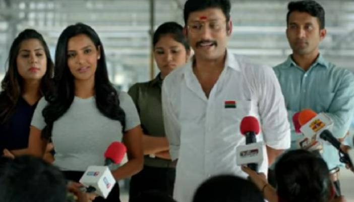 Watch OPS-EPS Rajini-Kamal to Modi RJ Balajis satire LKG spares no politician