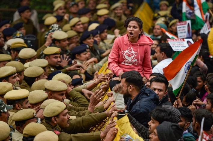 The precarious future of public protests in India