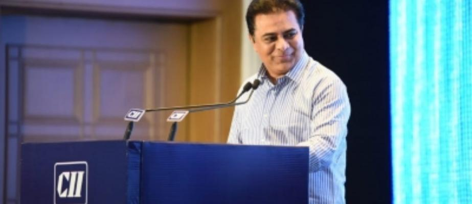 KTR slams Union government for not extending support to state projects