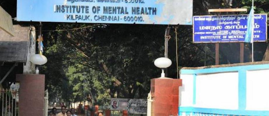 25 people at Institute of Mental Health in Chennai get COVID-19