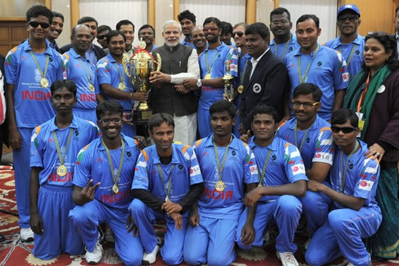 India has the best blind cricket team in the world but the players