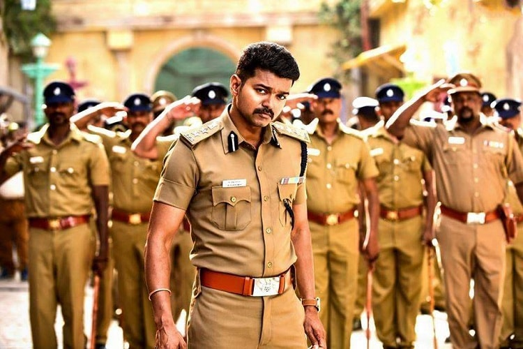 Vijay resumes shooting with one of his three heroines