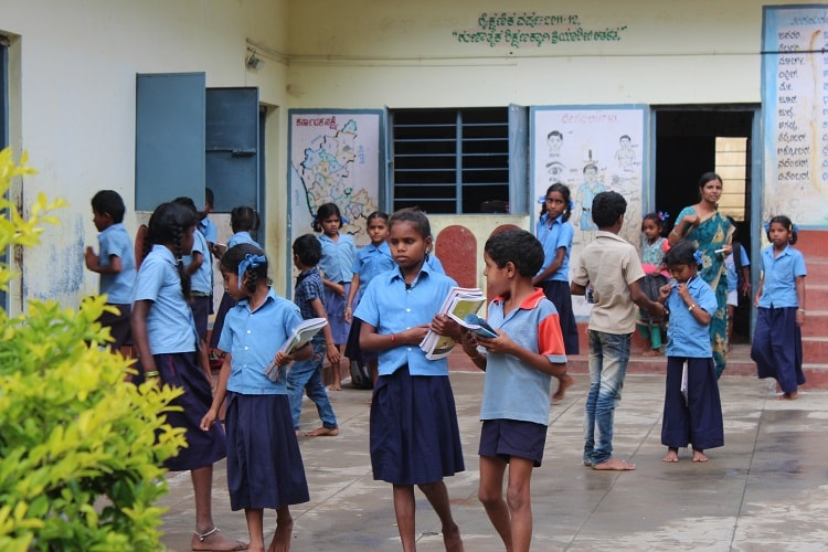 In Karnataka  A Minor Can Deliver A Baby In School Without