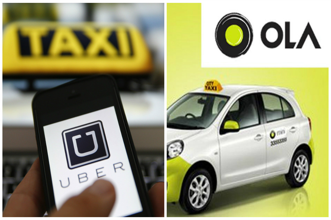 uber and ola driver threaten strike on dec 31 airport taxis fight cab aggregators the news minute. Black Bedroom Furniture Sets. Home Design Ideas