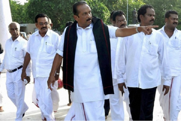Vaiko gets relief from Madras High Court in sedition case