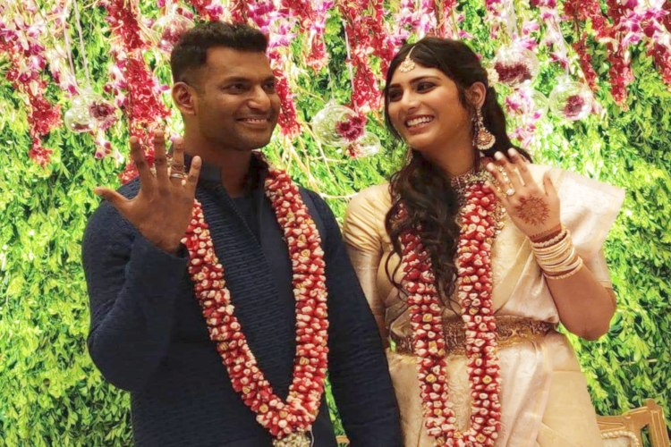 Actors Vishal and Anisha engaged in private ceremony in Hyderabad