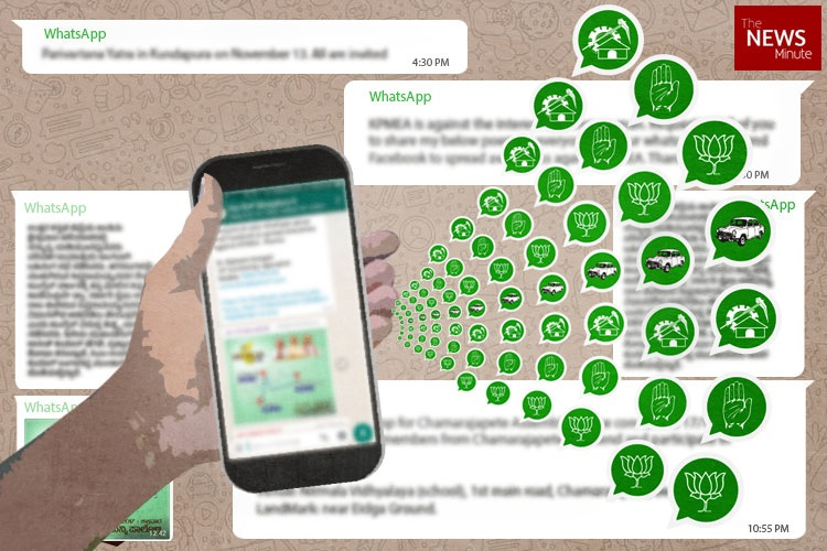 WhatsApp armies and Like farms: Internet is ground zero for BJP, Cong to take on TRS