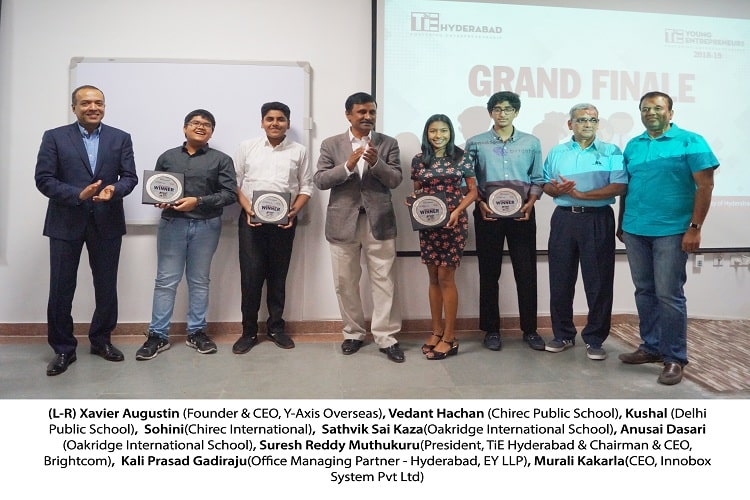 Carbonation wins 8th edition of 'TiE Young Entrepreneurs' Innovation Challenge in Hyd
